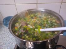 Simpele groentensoep met rundvlees