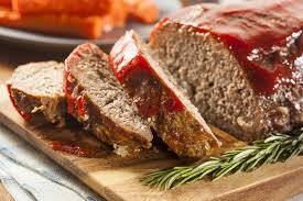 Eenvoudig gehaktbrood