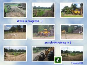 Work in progress 05082016